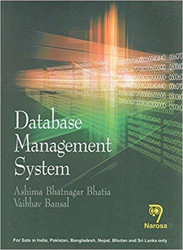 9788184873924: Database Management System