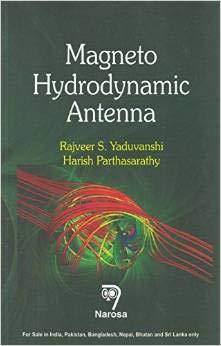 9788184874006: Magneto Hydrodynamic Antenna