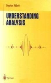 9788184890136: Understanding Analysis