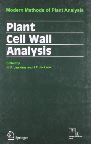 9788184891027: Plant Cell Wall Analysis: Modern Methods Of Plant Analysis