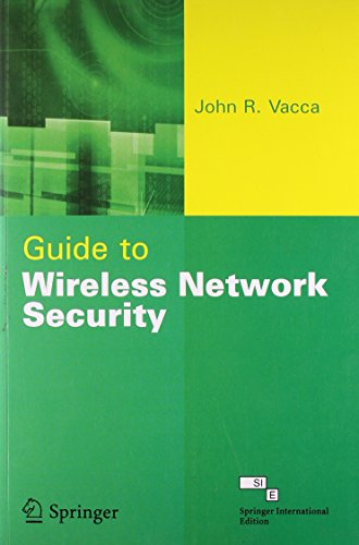 9788184891256: Guide to Wireless Network Security (With CD)