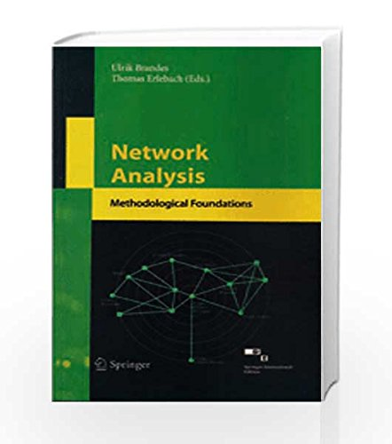 9788184893649: Network Analysis: Methodological Foundations