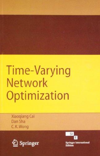 time varying network optimization sha dan wong c k