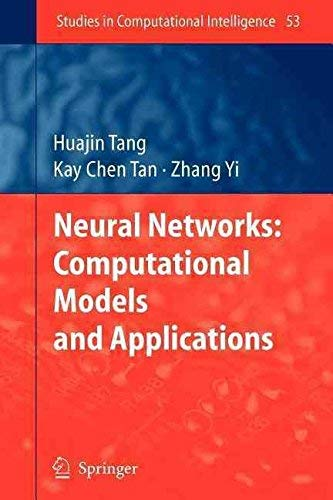 9788184894363: Neural Networks: Computational Models and Applications