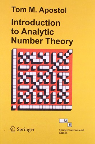 9788184895216: Introduction to Analytic Number Theory