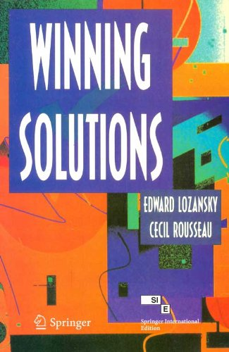 Winning Solutions: Edward Lozansky