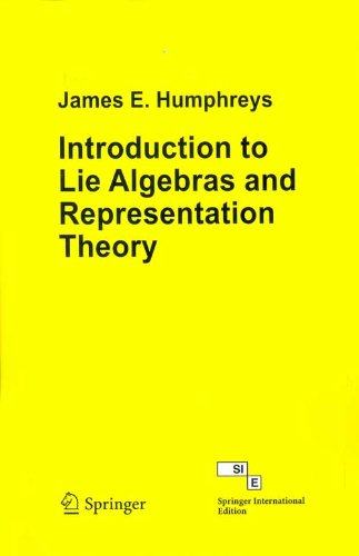 9788184896169: Introduction to Lie Algebras and Representation Theory