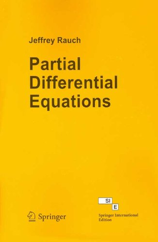 Partial Differential Equations (Low Priced Edition of: Jeffrey Rauch