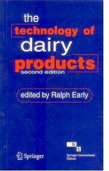 9788184896411: TECHNOLOGY OF DAIRY PRODUCTS, 2ND EDITION