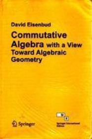 9788184896701: Commutative Algebra