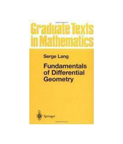 9788184896718: FUNDAMENTALS OF DIFFERENTIAL GEOMETRY