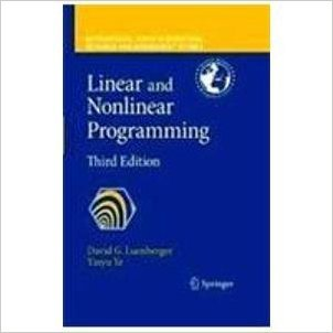 9788184896916: Linear and Nonlinear Programming