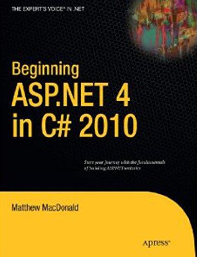 9788184896961: Beginning Asp.Net 4 In C# 2010