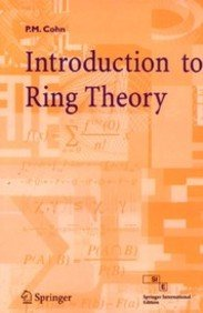 9788184899696: AN INTRODUCTION TO RING THEORY