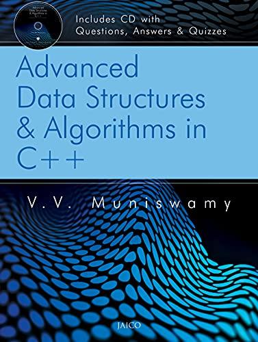 9788184950021: Advanced Data Structures & Algorithms in C++