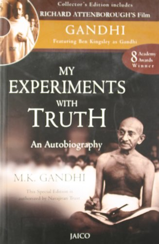 9788184950519: My Experiments with Truth: An Autobiography (with DVD)