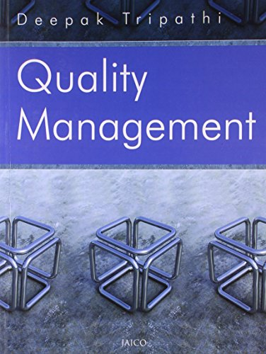 9788184950779: Quality Management