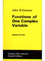 Functions of One Complex Variable: Michael Barr