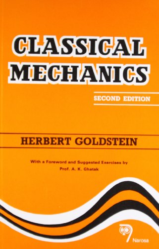 Classical Mechanics: H. Goldstein