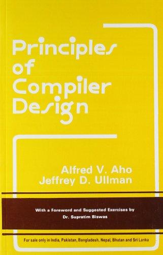 9788185015613: Principles of Compiler Design