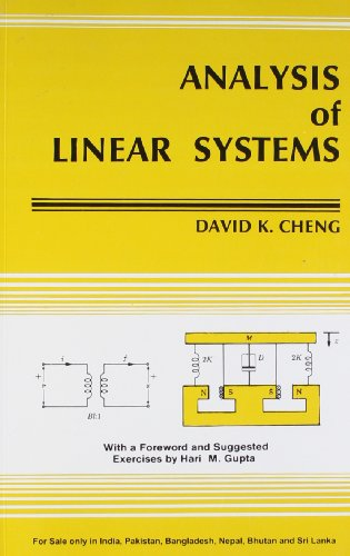 9788185015699: Analysis Of Linear Systems