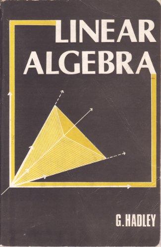 Linear Algebra: G. Hadley