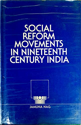 9788185176284: Social reform movements in nineteenth century India