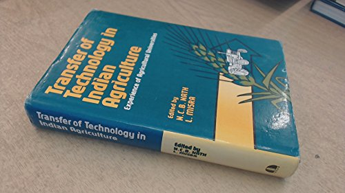 9788185182704: Transfer of Technology in Indian Agriculture: Experience of Agriculture Univers