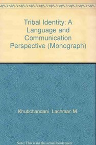 9788185182773: Tribal Identity: A Language and Communication Perspective