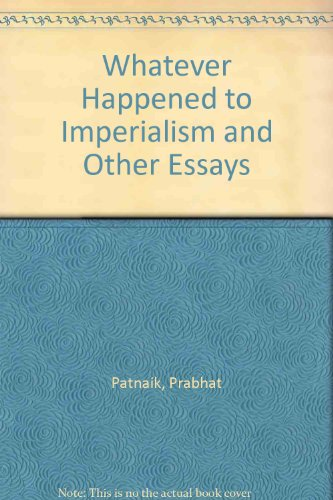 9788185229010: Whatever Happened to Imperialism and Other Essays