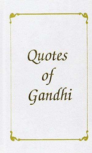Quotes of Gandhi: Bhalla Shalu