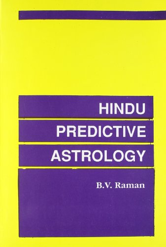 9788185273549: Hindu Predictive Astrology