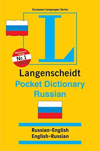 9788185288499: Langenscheidt's Pocket Russian Dictionary ; Russian-English, English-Russian