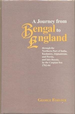 9788185297842: A Journey From Bengal To England