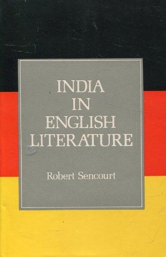9788185326344: India in English Literature