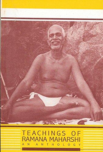 9788185336411: Teachings of Ramana Maharshi: An anthology