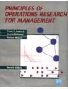 9788185386720: PRINCIPLES OF OPERATIONS RESEARCH FOR MANAGEMENT
