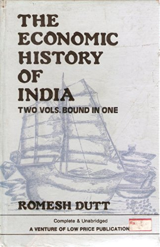 9788185418018: Economic History of India