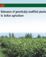 Relevance of Genetically Modified Plants to Indian