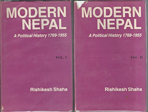 9788185425023: Modern Nepal: A Political History, 1769-1955