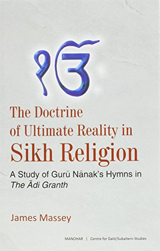 The Doctrine of Ultimate Reality in Sikh: Massey, James