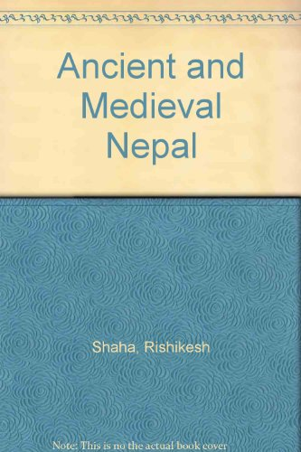 9788185425696: Ancient and Medieval Nepal