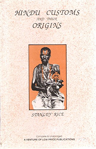 9788185557823: Hindu Customs and Their Origins