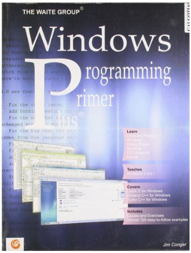 Windows Programming Primer Plus®: Jim Conger
