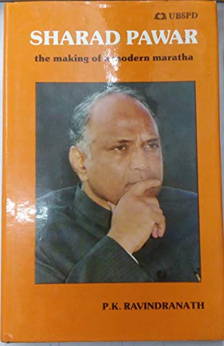 9788185674469: Sharad Pawar- the making of a modern maratha