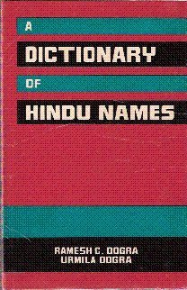 A Dictionary of Hindu Names