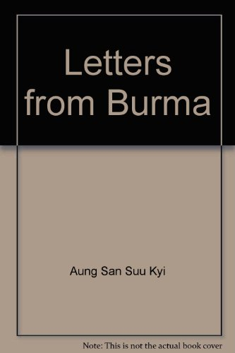 9788185720937: Letters from Burma
