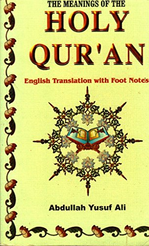 9788185738543: The Meanings of the Holy Qur'an - English Translation with Foot Notes