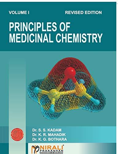 9788185790046: Principles of Medicinal Chemistry Vol. I