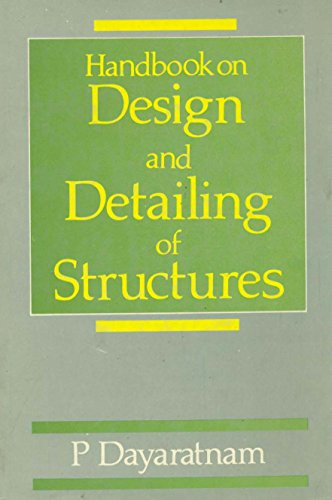 9788185814186: Handbook of Design and Detailing of Structures